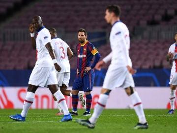 Leo Messi contra el PSG