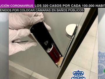 Detienen a dos personas acusadas de grabar más de 71.000 vídeos de mujeres en baños públicos de Málaga