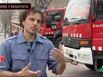 """La historia del bombero que ha dado la vuelta al mundo de vela: """"Paraba 30 minutos para dormir"""""""