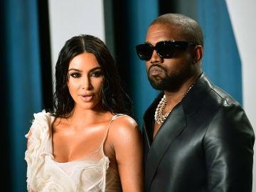 Kim Kardashian y Kanye West, en una imagen de archivo