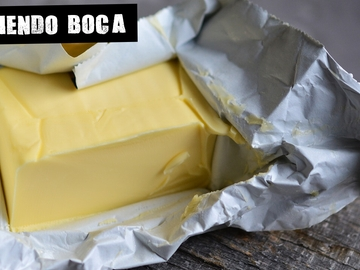 Imagen de archivo de mantequilla