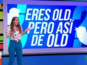 """El pique de Quique Peinado con Cristina Plaza por el reto viral 'eres old, ¿pero así de old?': """"¡Bueno... la teenager! Tienes una edad"""""""