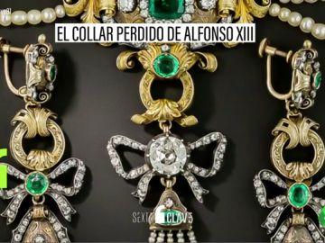 El collar de la reina... ¿y de Franco?