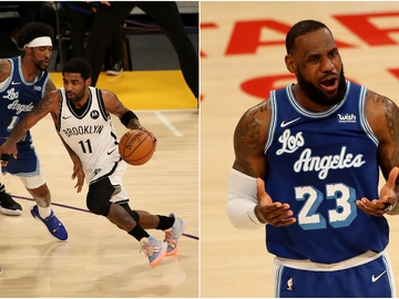 Kyrie Irving y Lebron James