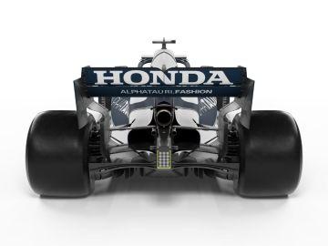 Honda, bien a la vista en el nuevo AlphaTauri