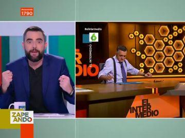 """Así vivió Dani Mateo detrás de las cámaras el ataque de cataplexia de Jordi Évole en El Intermedio: """"Me estaba muriendo"""""""
