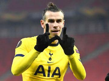 Gareth Bale, con el Tottenham