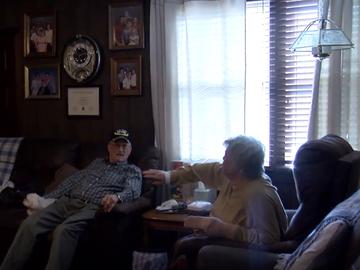 Herbert Parrish y su mujer Lois hablan con Fox tras sufrir un robo