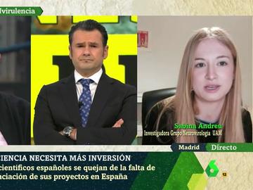 Sabina Andreu, investigadora