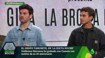 Willy Bárcenas y Antón Carreño en laSexta Noche