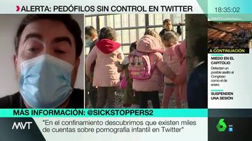 """'Sickstoppers', los voluntarios que se dedican a denunciar pornografía infantil en Twitter: """"Hay miles de cuentas con esos contenidos"""""""