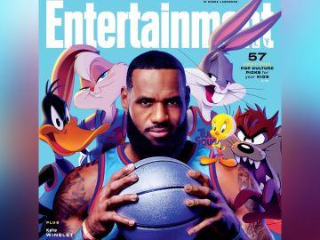 LeBron James con los 'Looney Tunes'