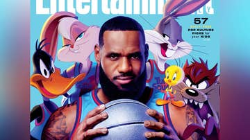 LeBron James con los 'Looney Tunes'