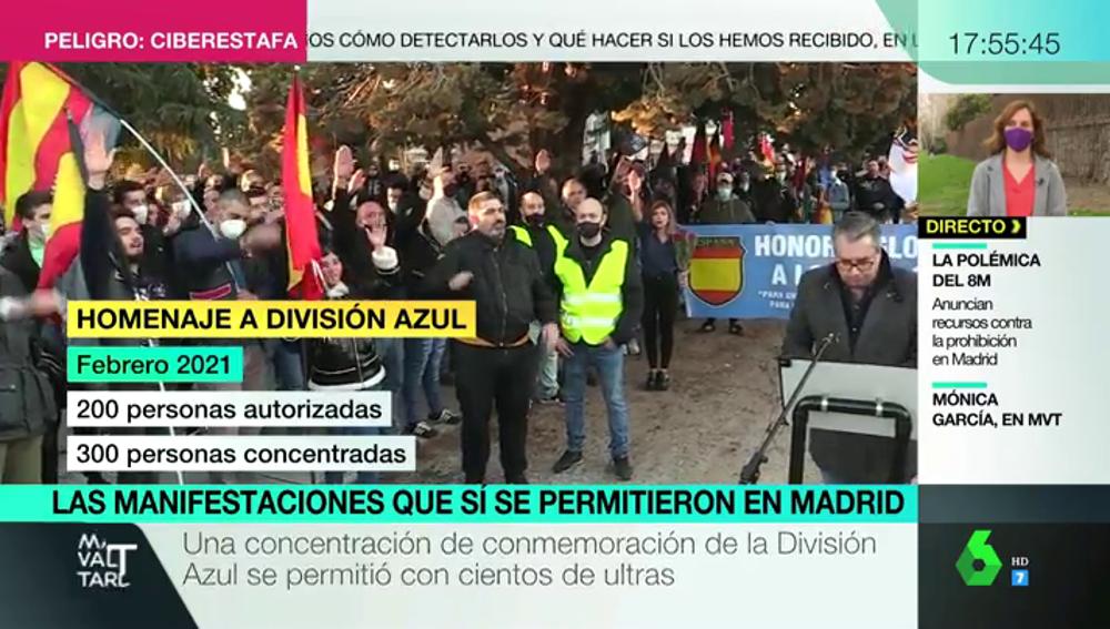 ¿El 8M no... pero otras sí? Repaso a las manifestaciones que sí se han permitido en Madrid en plena pandemia