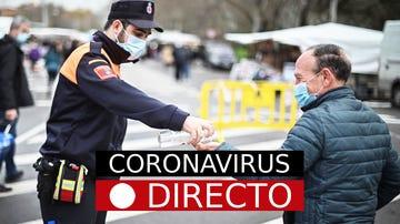 Imagen de un control por el coronavirus