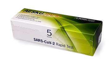 El test de antígenos que se pondrá a la venta en Aldi en Alemania.