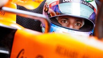 Daniel Ricciardo, sobre el McLaren