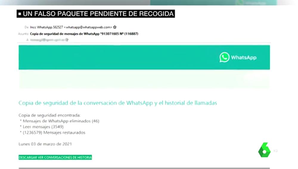 Ojo con los SMS que avisan de la recogida de paquetes: la Policía advierte de que podría ser una estafa