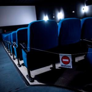 Sala de los cines Redux de la localidad toledana de Torrijos