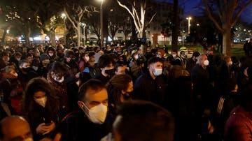 Protesta contra el encarcelamiento de Hasél en Barcelona