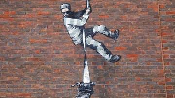 Nueva obra de Banksy
