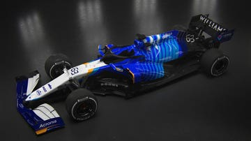 El FW43B de Williams