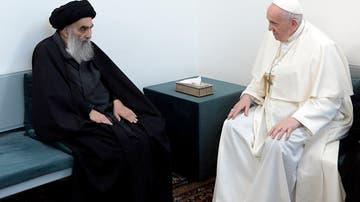 Encuentro el Ayatolá Al-Sistani y el papa Francisco