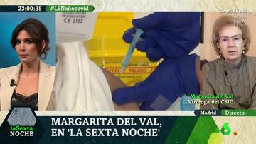 Margarita del Val, en laSexta Noche