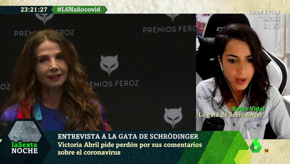 Rocío Vidal, en laSexta Noche