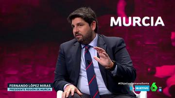 """López Miras critica el debate sobre """"salud o economía"""": """"Sin vida no hay nada"""""""