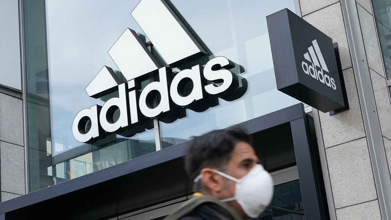 Imagen recurso de una tienda de Adidas en Alemania