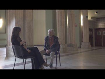 """Mamen Mendizábal advierte a José Sacristán sobre una crítica a la izquierda: """"Por decir esto te van a caer palos"""""""