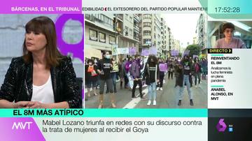 """El mensaje de Mabel Lozano por el 8M: """"Nunca vamos a poder ser líderes ni empoderadas mientras haya mujeres prostituidas"""""""