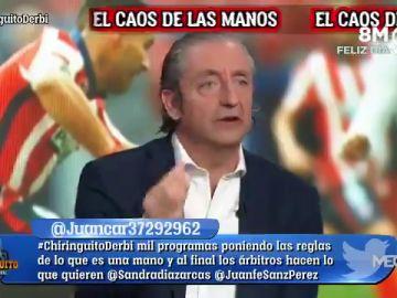 """Josep Pedrerol, tajante: """"Se ha adulterado la competición"""""""