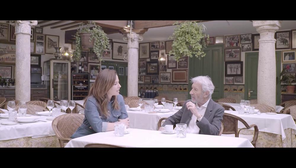 """José Sacristán confiesa que se ha llegado a """"desmayar en el cine"""" porque es muy emocional"""
