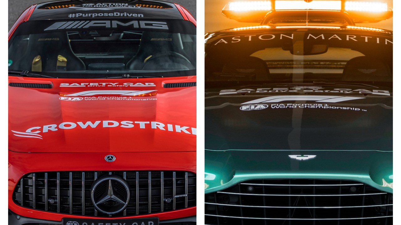 Mercedes y Aston Martin