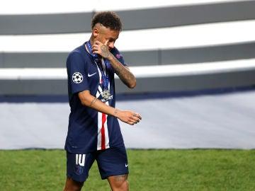 Neymar, baja en el PSG contra el Barça