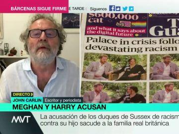 """John Carlin, sobre las confesiones de Meghan y Harry: """"No es de buena gente salir a contar al mundo los trapos sucios"""""""