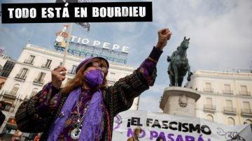 Manifestación por el 8M en la Puerta del Sol