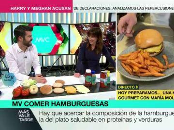 Cómo hacer una hamburguesa saludable en menos de dos minutos: trucos para sustituir grasas por nutrientes sin renunciar al sabor