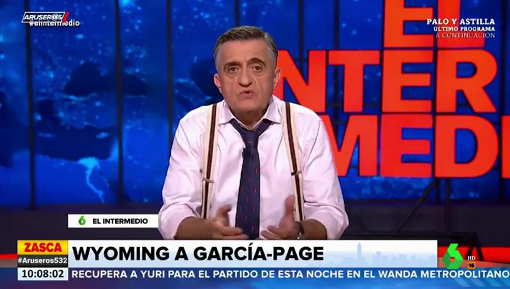 """El consejo de Wyoming al PSOE: """"Meted a Page en el chat de presidentes para que se entere de algo"""""""