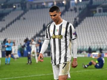 Cristiano Ronaldo, tras la eliminación de la Juventus