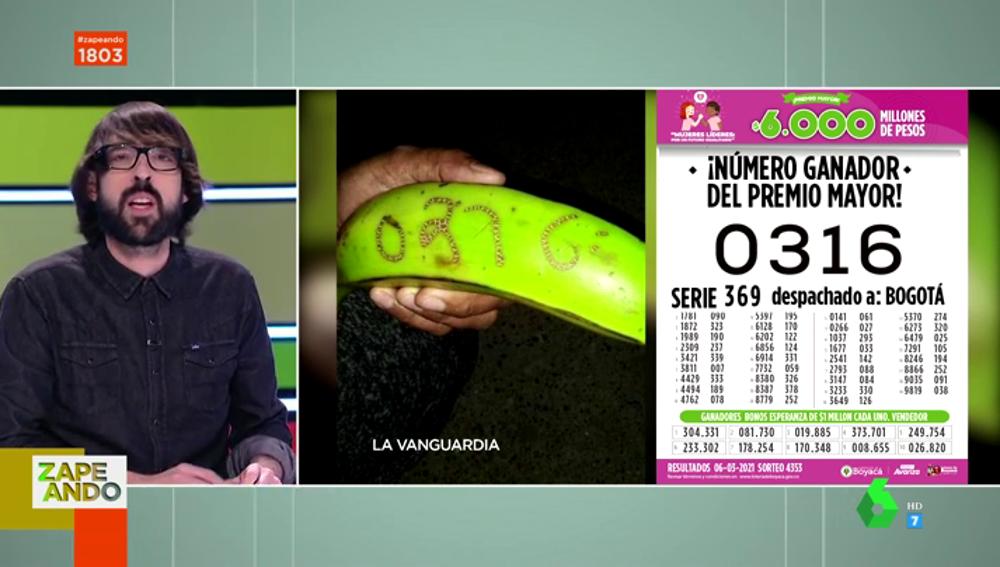 La historia del 'plátano de la suerte' que ha hecho millonarias a 2.000 personas