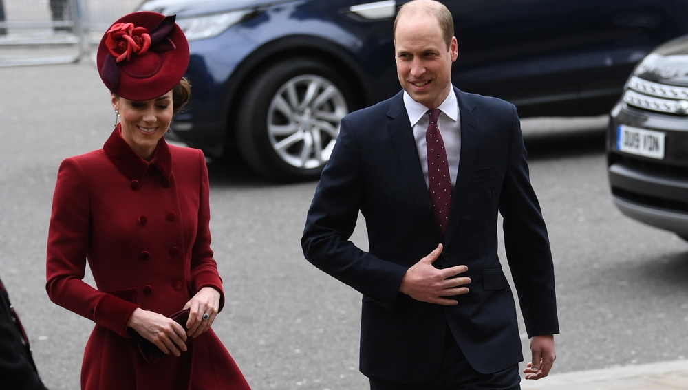 Los duques de Cambridge, Guillermo y Kate Middleton.