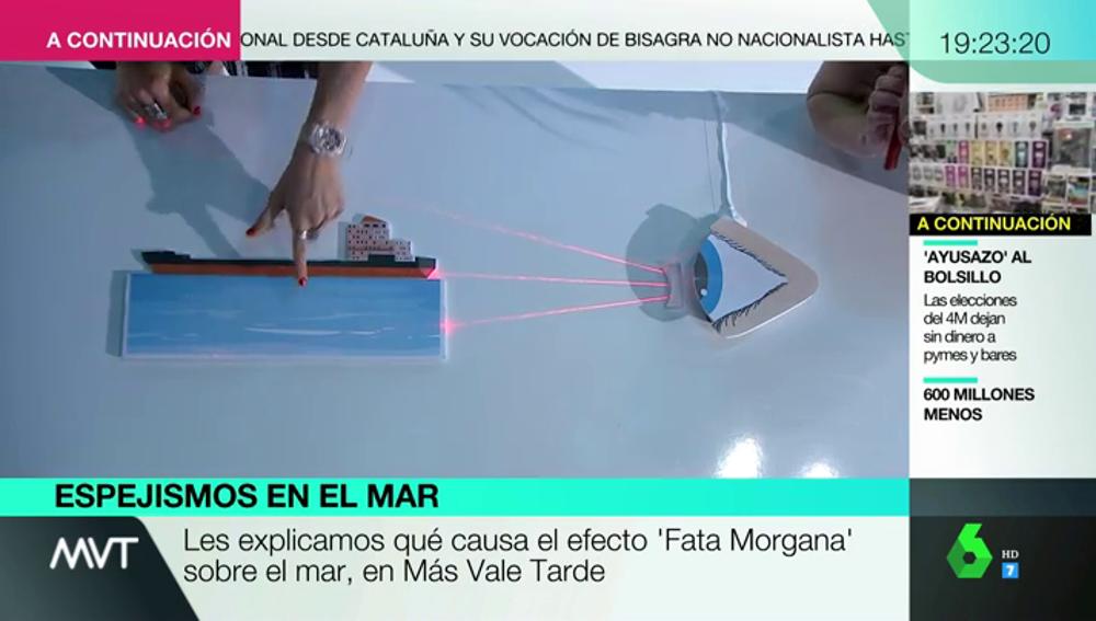 Sí, es posible que hayas visto un barco 'volando': la explicación científica al curioso efecto óptico