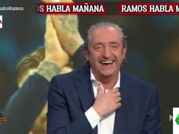 """El ataque de risa en el plató de 'El Chiringuito' a cuenta del documental de Sergio Ramos: """"Ni las Kardashian"""""""