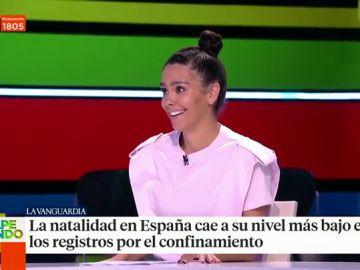 Cristina Pedroche desvela sus planes de futuro sobre la maternidad en pleno directo