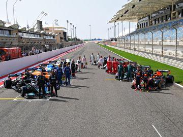 Parrilla de Fórmula 1 en 2021