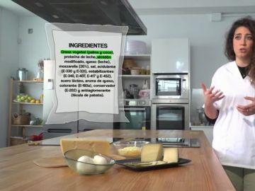 Si no pone 'queso' en el envase, no es queso: ojo con los 'rallados' o 'especiales para sándwich'
