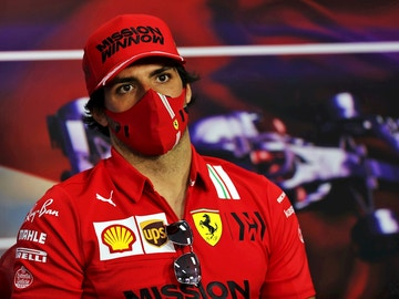 Carlos Sainz, con Ferrari